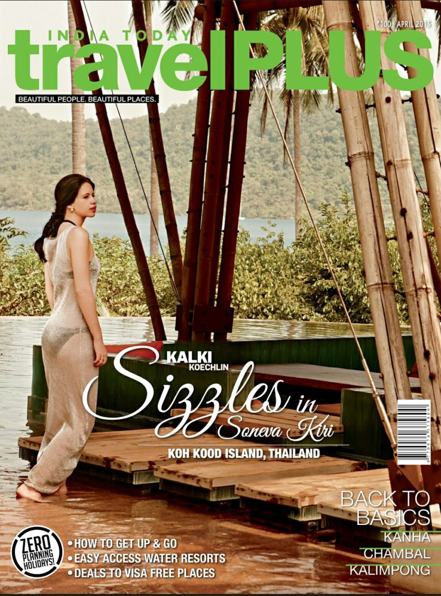 India Today - Travel Plus April Cover