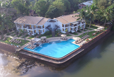 Acron Waterfront Resort in Baga-Goa