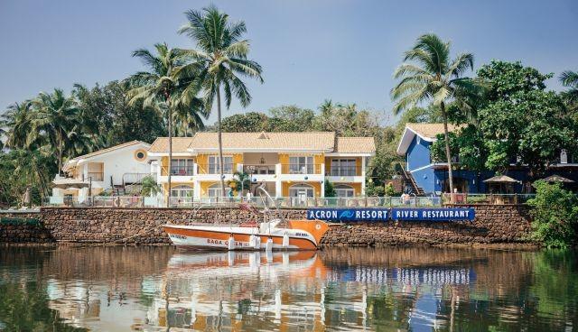 Acron Waterfront Resort in Baga