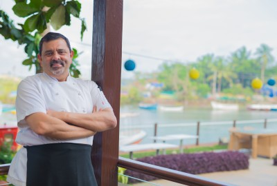 Cyrus Todiwala at Acron Waterfront Resort Goa