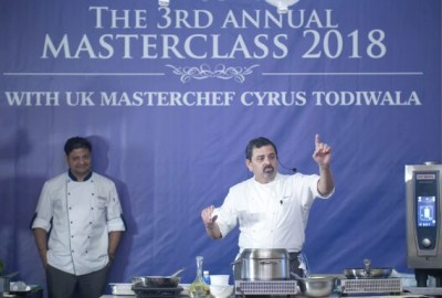 Celebrity chef Cyrus Todiwala