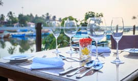 Fine Dining hotel at Baga Goa