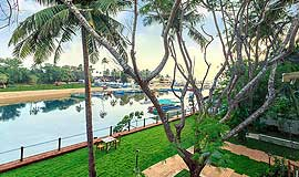 River view room at Acron Waterfront Resort in Goa